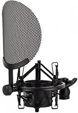 Spider Shockmount with Integrated Pop Filter -fits any microphone with 38-53mm