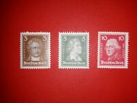 Weimar Republic 1926, Michel 385/388/390 in MNH **. Free UK P&P.