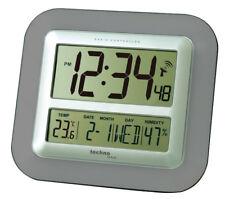 Technoline WS 8006 anthracite Jumbo Horloge murale Radio-pilotée Date D