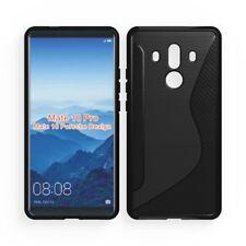temp Verre Cell Phones & Accessories Cases, Covers & Skins Pour Huawei Mate 10 Porsche Design Neuf Gel Noir Étui De Téléphone