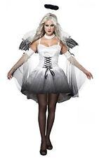 California Costumes Women's Platium Collection - Angel Of Darkness Medium Size