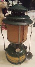 Rare Unfired 1945 Coleman Military Lantern Brass tank Single Mantle FREE US S/H