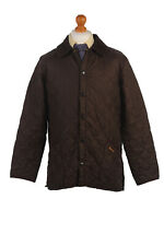 BARBOUR Duracotton Liddesdale Quilted Jacket Vintage Color Khaki Chest 44''BR429