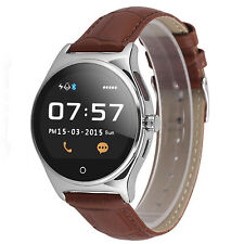 Heart Rate Bluetooth Smart Watch Wristband For Android Samsung Galaxy Note 8 5 4