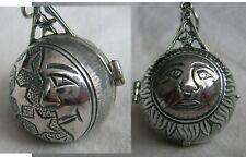 Freimaurer Anhänger Kugel   Silber 925 Memento Mori