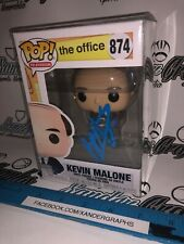BRIAN BAUMGARTNER KEVIN MALONE THE OFFICE SIGNED AUTOGRAPHED FUNKO POP-PROOF COA