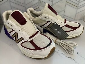 New Balance 990v5 USA Men's Sz 9 Shoes Black History Month Tan Suede M990CP5