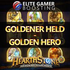 Hearthstone Level 60 | Goldener Held / Golden Hero - 500 Wins Ranked EU & US HS