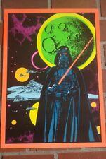 Marvel Third Eye tribute poster Darth Vader Star Wars blacklight day glow Sith!