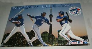 Original 1995 TORONTO BLUE JAYS TEAM MLB LICENSED POSTER