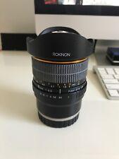 Rokinon 8mm f2.8 Fisheye Lens Sony E Mount