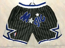 NBA Basketball Shorts Men's Pants black Stitched Orlando Magic