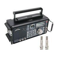 TECSUN S-2000 HAM Amateur Radio SSB Dual Conversion PLL FM/MW/SW/LW/ Air Band X-