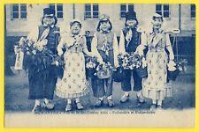 cpa Rare NANTES Fête MI-CARÊME 1923 Déguisement HOLLANDAIS Nederlandse kostuum