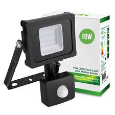 LE 10W Floodlight+Light sensor+Passive sensor,800lm security lamp,daylight white