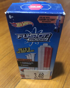 Hot Wheels Fusion Factory Color Refill Kit | RED | Asst DGC99 | DGD00 | NEW