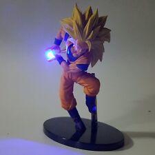 Dragon Ball Z Action Figure Son Goku Kamehameha LED Light 150mm Super Saiyan