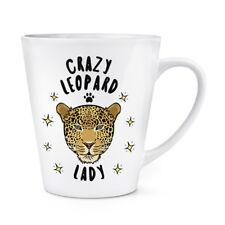 Pazzo Leopardo Donna 341ml Latte Tazza - Divertente Animale