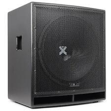 Vexus Subwoofer Attivo Pa 46 Cm 600W Max Amplificatore Integrato Xlr Rca