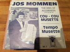 45T Jos Mommen - Cou-cou musette