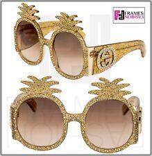 a949e20b79c7e Gucci Cat Eye Gold Frame 100% UVA   UVB Sunglasses for Women for ...