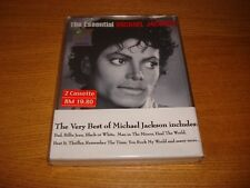 Michael Jackson The Essential Malaysia Double Cassette Album Sealed MEGA RARE