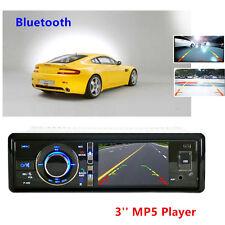 3'' Bluetooth HD Digital Screen Car DVD Player MP5 Rearview Backup Cam Universal