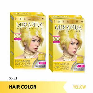 [MIRANDA] Premium 3D Permanent Hair Dye ...