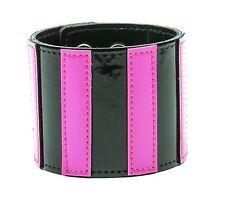 British Goth Stripe Punk Bracelet Neon Club Teen Rock Rockabilly 70's Style