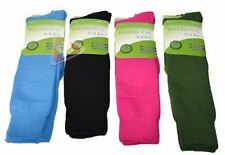 New 4 Pairs Assorted Women's Ladies Wellington Wellie Boots Socks Size 4-8