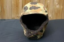 VTG Columbia Duck Hunting Frogskin Camo GoreTex Fleece Pile Trapper Hat USA L XL