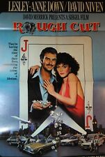 Movie Poster ROUGH CUT BURT REYNOLDS 1980 Original 27x40 Folded