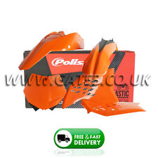 KTM EXC 125/200/250/300/400/450/530 EXCF 2008-2011 Orange Polisport Plastic Kit