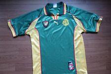 Cameroon Soccer Jersey Football Shirt puma 100% Original M 1998 World Cup