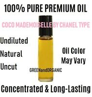 Coco Mademoiselle by Chanel (W) type 10 ml Roll On Perfume Body Oil Uncut PURE