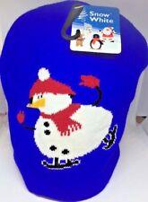 snowman beanie hat bnwt will fit teenager/adult