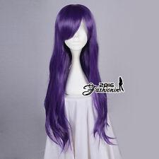 love Live Nozomi Tojo 70CM Dark Purple Curly Stylish Lady Anime Cosplay Hair Wig
