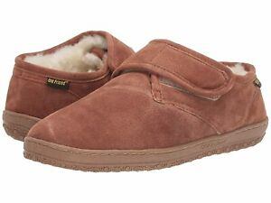 Man's Slippers Old Friend Adjustable Closure Bootie