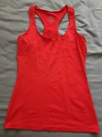 Sweaty Betty Women's Red Gym Tank Top Size S Small Good Used Condition