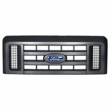OEM NEW Front Grille Assembly w/ Emblem Textured Black E-Series Van 8C2Z8200B