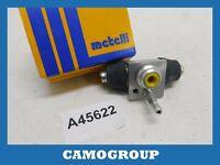 Cylinder Rear Brake Rear Wheel Cylinder Metelli Volkswagen Golf Passat
