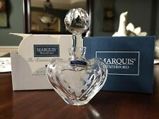 Marquis Waterford Mini-Heart Perfume Bottle from The Romance Collection
