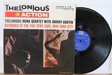 "Thelonious Monk LP ""In Action"" ~ Riverside 12-262 ~ 1st DG Mono ~ Johnny Griffin"