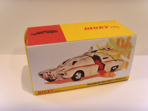 DINKY TOYS No.105 - MAXIMUM SECURITY VEHICLE-  custom repro / display box only