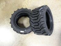 TWO New 18X8.50-10 Carlisle Trac Chief Industrial Lug Tires 215/50-10 , 51S311