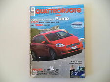QUATTRORUOTE 9/2005 ALFA ROMEO 159 JTS/PEUGEOT 107/FIAT 600/VOLKSWAGEN FOX/RANGE
