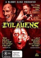Evil Aliens (DVD, 2007) LIKE NEW REGION 4
