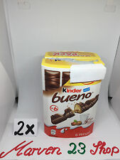 2 x Kinder Bueno 12 bars fresh from Germany, free shipping Worldwide