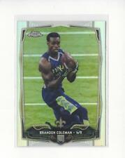2014 Topps Chrome Refractor #147 Brandon Coleman Saints