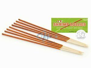 Garnelenhaus Shrimp Lollies Artemia Stick 8 pc Brine Shrimp Cherry Shrimp Food